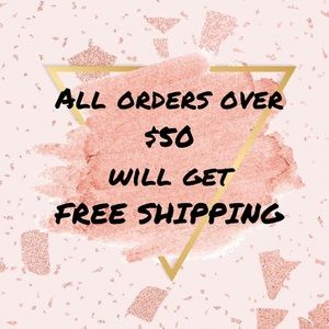 FREE SHIPPING DISCOUNT SPEND $50 or MORE